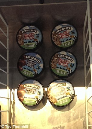 At the Athenaeum Hotel in London, the mini-bar offers complimentary Ben & Jerry's ice cream in a freezer compartment.