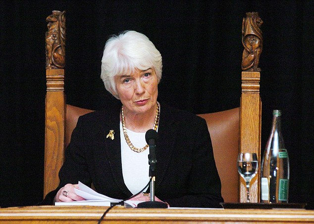 Dame Janet Smith, who is leading a review into how Jimmy Savile was allowed to sexually abuse children and adults at the BBC