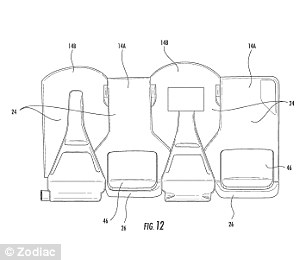 Zodiac Seats' hexagonal seating for planes means you FACE