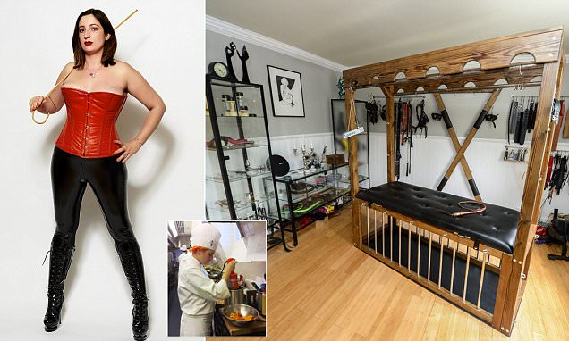 An encounter with suburban dominatrix Mistress Evilyne in row with neighbours  Daily Mail Online
