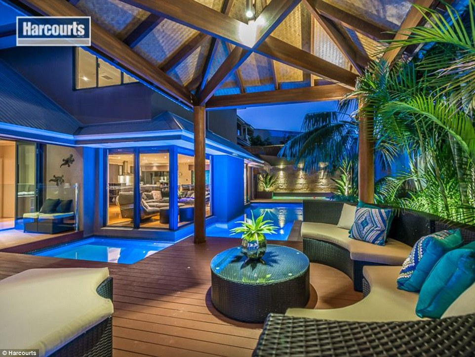 Balistyle Perth home with wrap around pool on the market