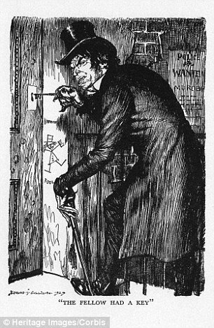 People in the Mr Hyde group become increasingly disagreeable when drinking. An image of the sinister literary character is shown