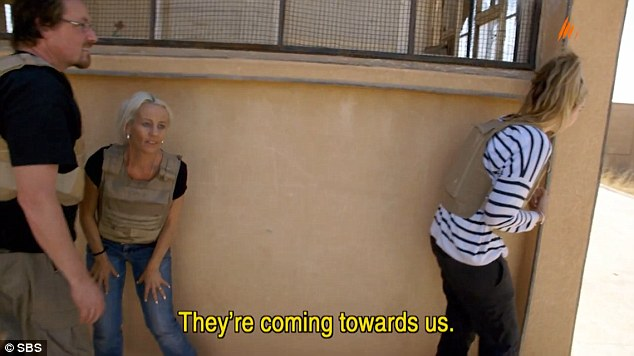 During the filming of the show, three of the six Australian stars travelled to Syria for the documentary but found themselves in the middle of an active war zone