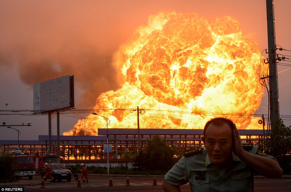 Image result for factory explosion