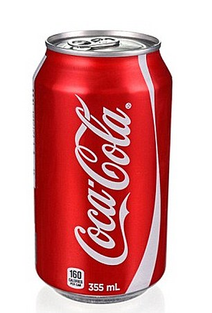 One can of Coke, right, would take a person over their daily limit of 30g of sugar for adults, with 35g of sugar per can