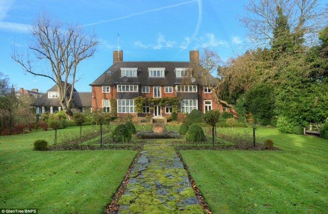 The house on Linnell Drive is an enormous London mansion that princes William and Harry frequently visited during their childhood to visit William's godfather Constantine II, who was king of Greece until he was ousted from power in a military coup in 1967