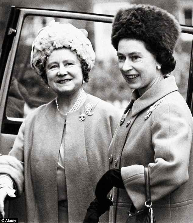 The Queen and the Queen Mother pictured together in 1968. The footage that has emerged of the family performing Nazi salutes at Balmoral will cause outrage across the nation