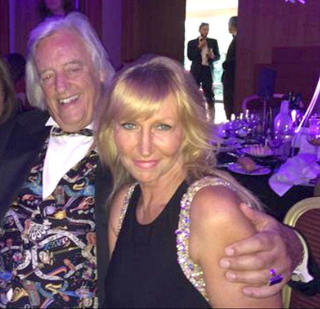 Living together: Michael Mansfield QC, 73, and Yvette Greenway, 51, who runs an online video and events business called Anna Christian Productions Ltd