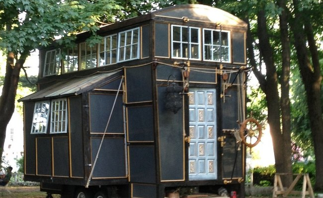 Couple S Tiny House Mansion Was Built Entirely From