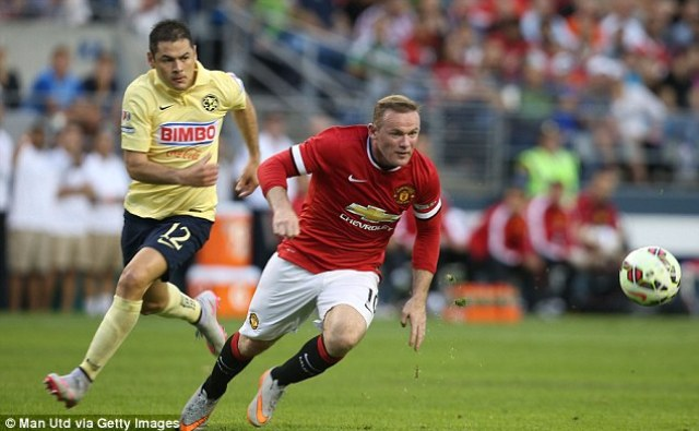 Rooneyhas been told he will line up there when United's season begins against Tottenham on August 8