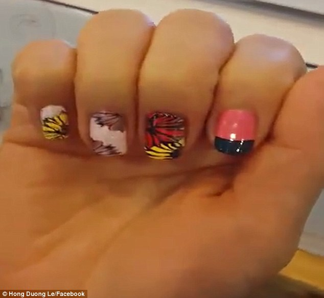 Nailed it! Amazing vending machine prints a perfect manicure in ...