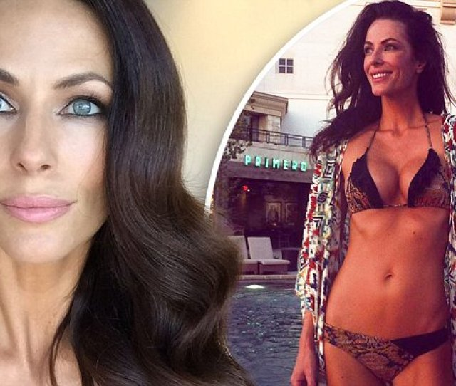 Esther Anderson Sizzles On The Set Of Celebrity Apprentice Daily Mail Online The Daily Braille