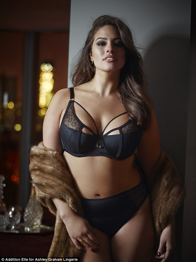Wearing Her Own Plus Size Model Ashley Graham 28 Has Launched