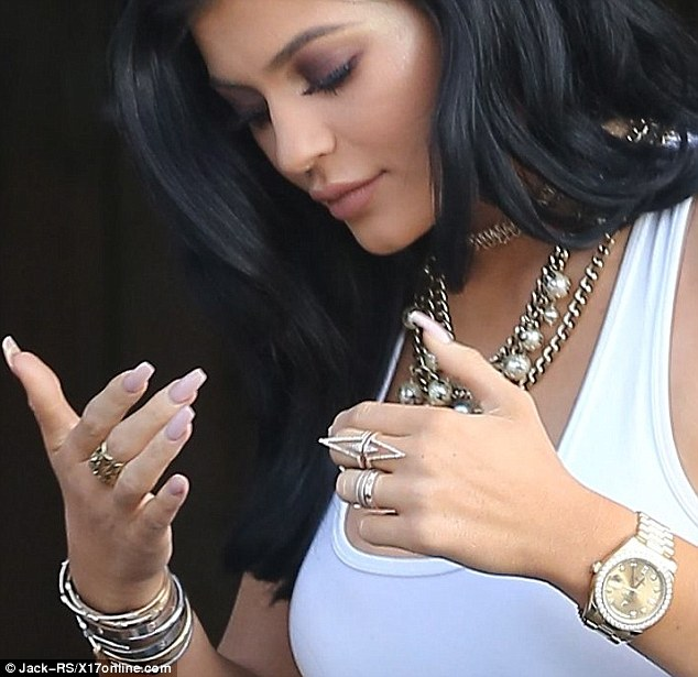 Kylie Jenner Ignites Rumours She Has Married Tyga After