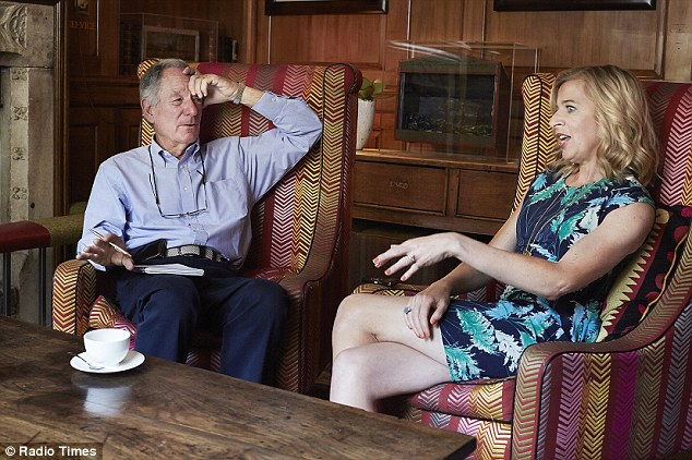 The motor-mouthed reality star was interviewed by Michael Buerk ahead of the launch of new TV panel show 'If Katie Hopins Ruled The World'