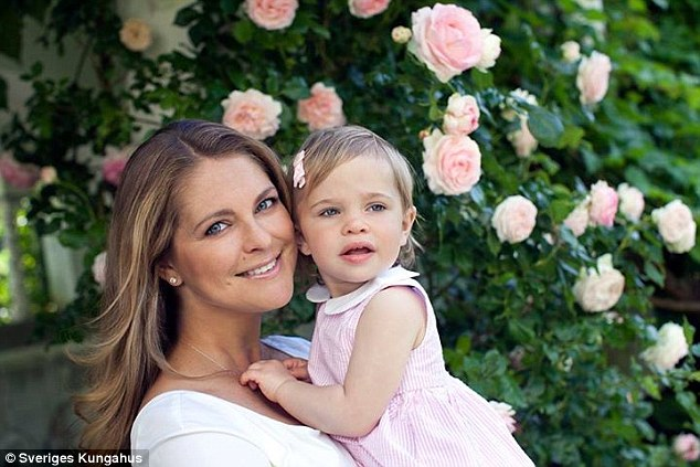 Princess Madeleine of Sweden shares photos featuring her