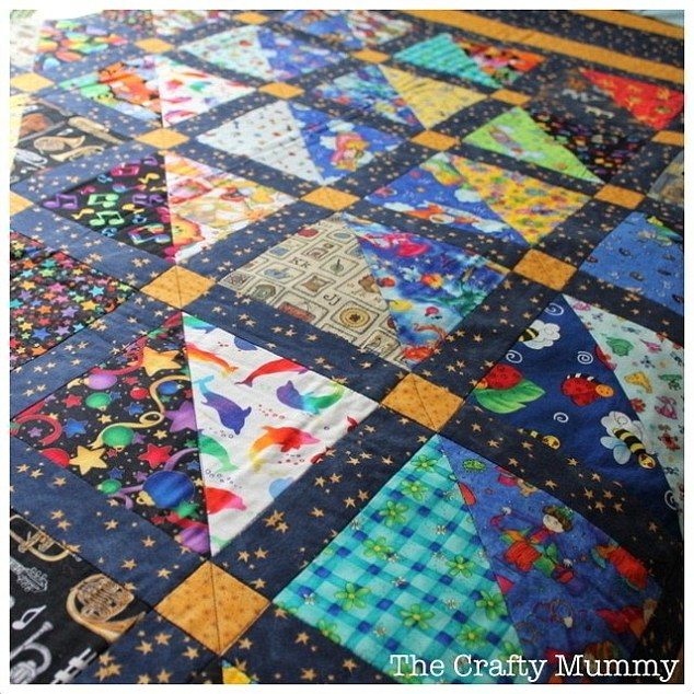 Could this 'I-spy' quilt be made by the same quilt maker who produced the degraded item found with the body of the murdered girl dumped by the South Australian highway in July?