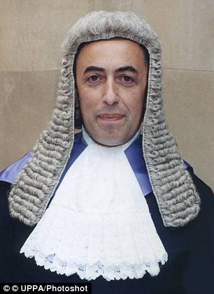 Judge Philip Statman (pictured) said the abuse, endured by the girl almost 40 years ago, had caused her 'great distress' and 'ruined' her childhood