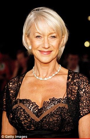 Dame Helen Mirren Checks Her Waxworks Ample Assets At