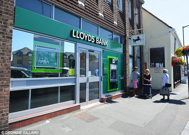 Outrage: A leaked email from a senior manager at Lloyds highlights the state-backed lender's lack of concern for loyal customers