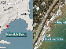 Saudi Arabian King Salman cuts short holiday on the French ...