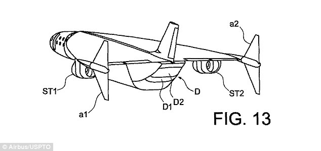 Airbus files patent for a hypersonic jet more than double