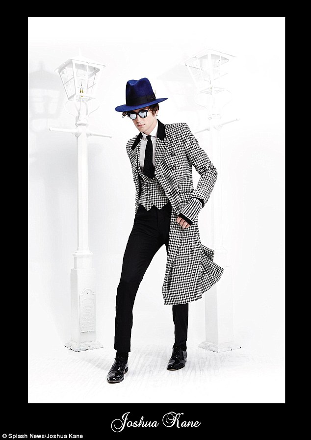 One Night Only frontman George Craig cuts a dapper figure in houndstooth pieces for the campaign