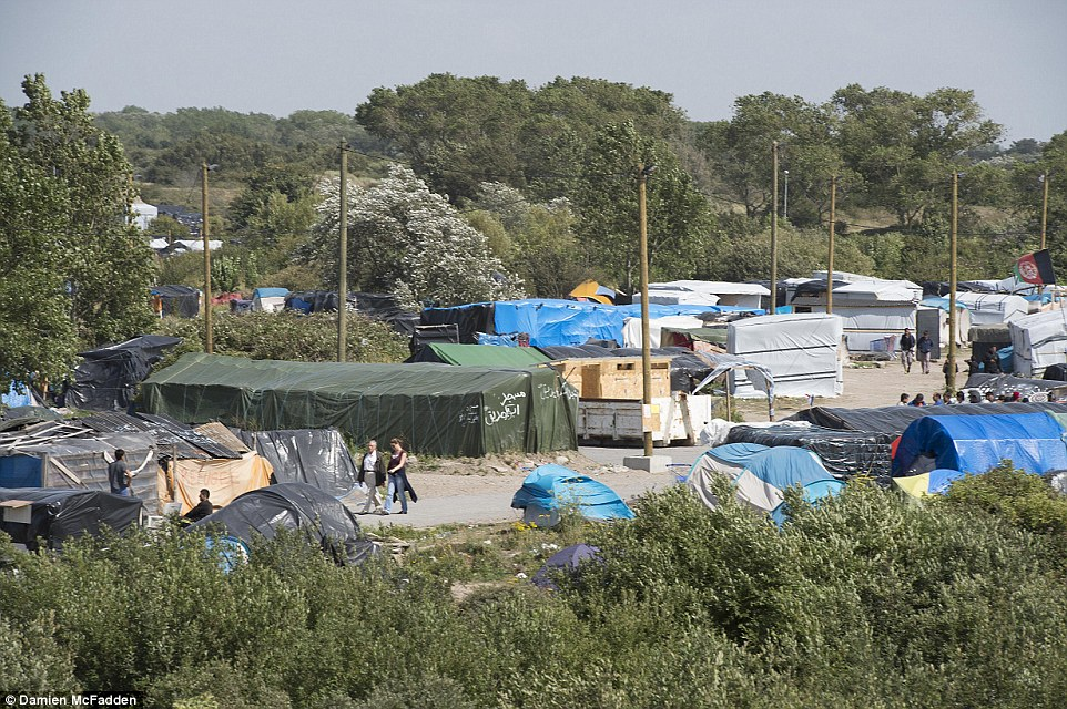 Toma el control: El ex asesor del gobierno Nick Pearce ha dicho que Gran Bretaña debería ofrecer para disfrutar de algunos de los refugiados que se alojan en el campamento