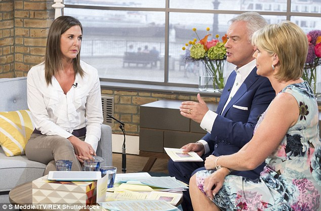 Lara tells presenters Eamonn Holmes and Ruth Langsford why online dating can be more difficult for women