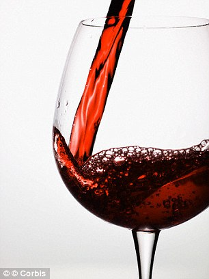 Red wine could be the cause of your thread veins as it leads to flushing of the blood vessels in the face