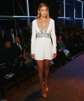 Gigi Hadid Shows Cleavage David Jones Spring Summer