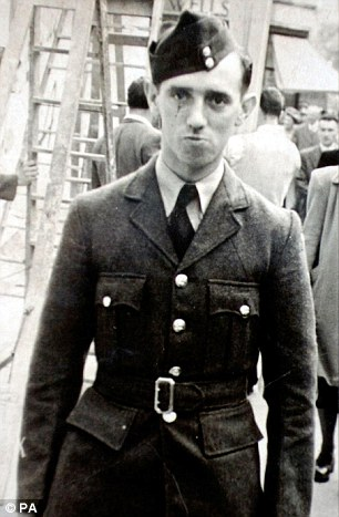 'Guinea pig': RAF engineer Ronald Maddison, 20, unwittingly volunteered to be exposed to Sarin gas, a deadly nerve agent now classified by the UN as a weapon of mass destruction. He died in May 1953