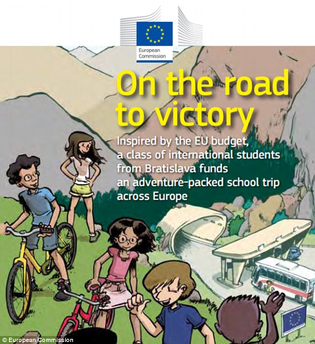 Brussels officials have produced a series of cartoons designed to teach children the virtues of the European Union