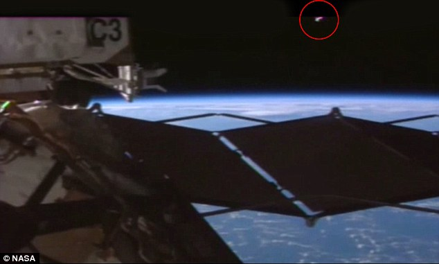 The short clip, uploaded to YouTube, is the latest to fuel claims that extra terrestrials are monitoring Earth