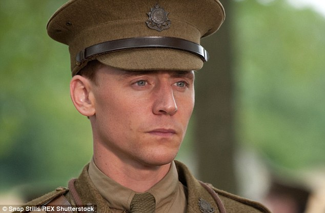 Historical: The English-born actor has also played a WWII commander in Steven Spielberg's War Horse