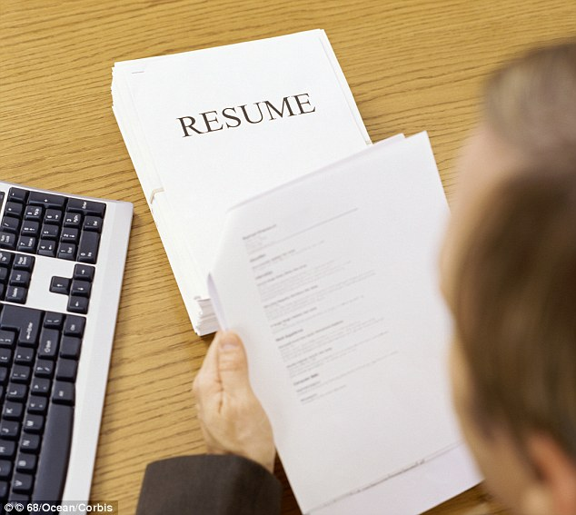 Career Builder reveals how to avoid classic CV mistakes | Daily Mail ...