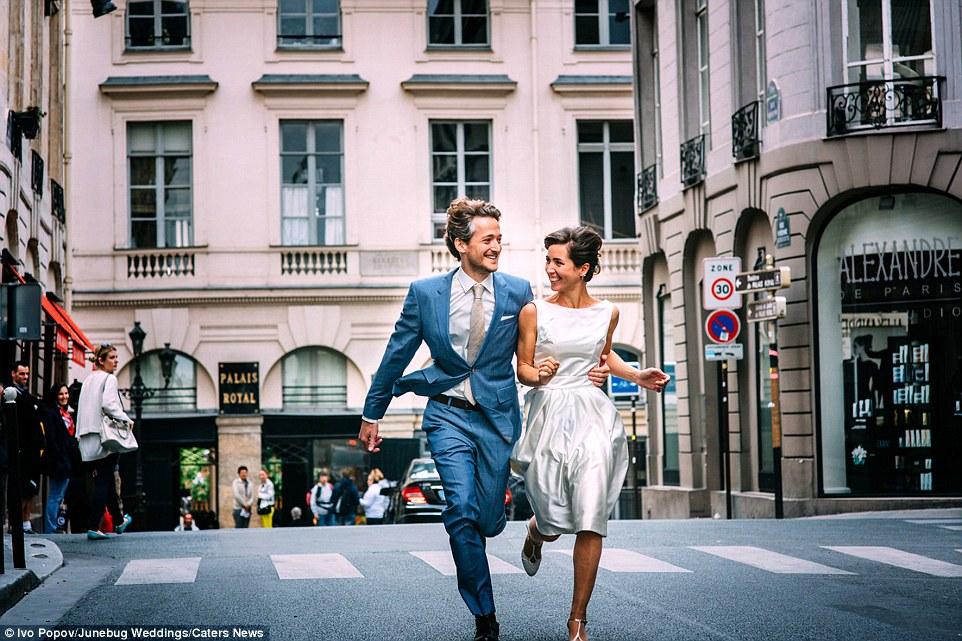 Concurso de fotografia de casamento deste ano atraiu mais de 4.000 inscrições de 40 países (na foto: Paris)