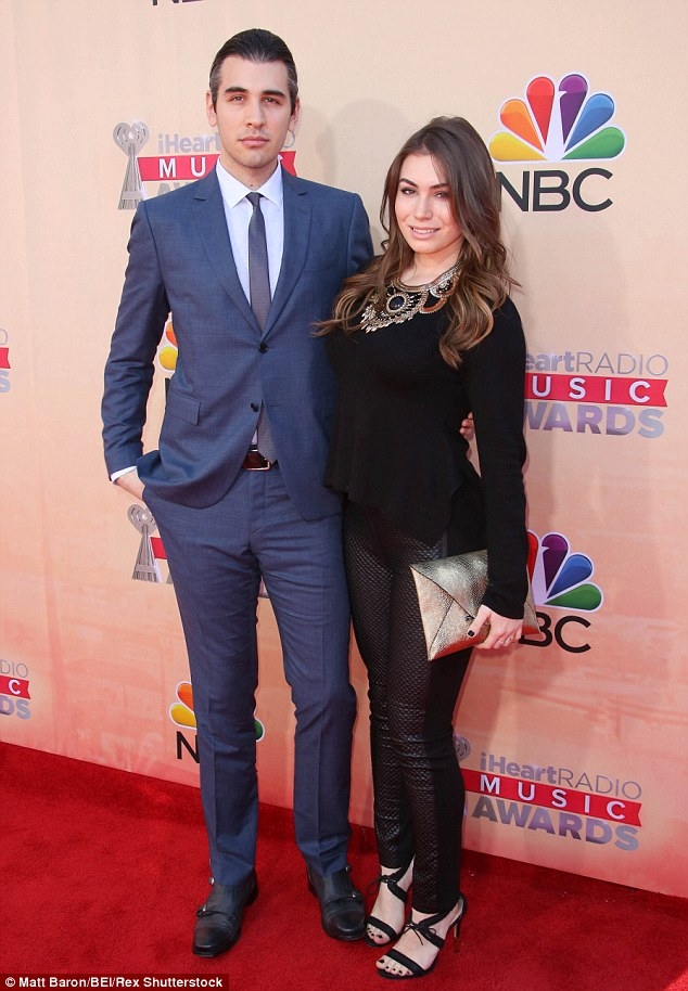 Siblings Sophie and Nick are seen on the red carpet of the iHeartRadio Awards in LA in March