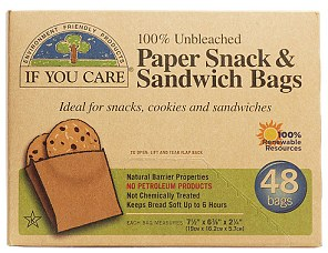If You Care Paper Sandwich and Snack Bags