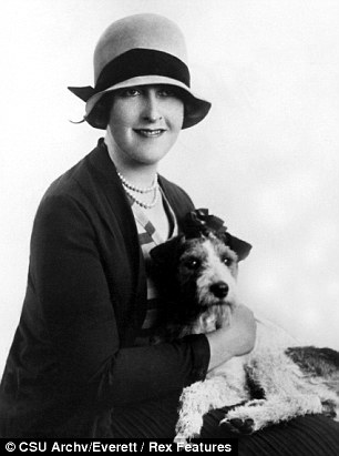 Agatha Christie pictured in the 1920s