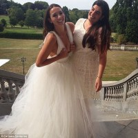 Ricki-Lee Coulter and has a hearty chuckle as she weds ...