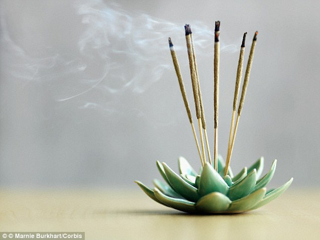 When burned, incense releases compounds which can cause genetic mutations in cells, which can lead to cancer, a study found