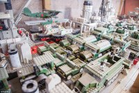 Man building 'world's biggest' Lego model of USS Missouri ...