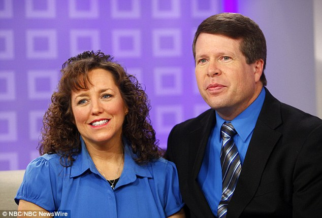 Parental disappointment: Jim Bob and Michelle Duggar are said to be devastated by their eldest son's behavior and actions and said they pray he repents and changes his ways