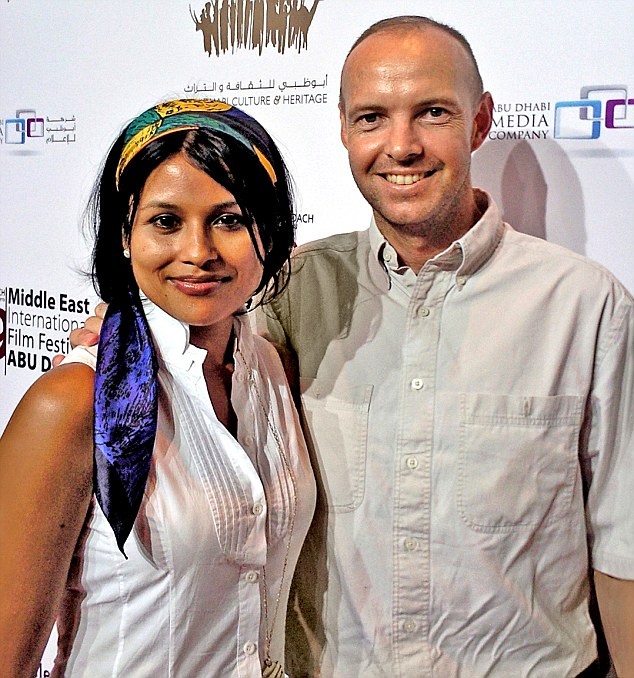 Afsana (left), 47, met her ex-husband Bruno (right) in India in 2008, married him two years later and gave birth to Louis but their marriage broke down three years later in Dubai