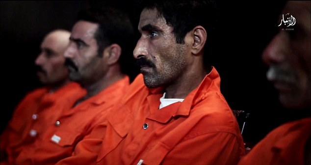Victims: All four men are shown at the beginning of the video, where they introduce themselves to the camera