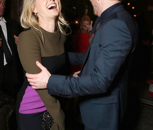 Good One The Actress And Director Shared A Laugh At The Premiere
