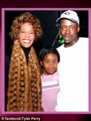 After she was found in the tub, Bobbi Kristina was transferred to Peachtree Christian Hospice, where her distraught family and loved ones maintained a bedside vigil and eventually said their goodbyes. Above, Bobbi Kristina with her parents