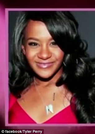 . Perry was also spotted visiting the hospice numerous times to see Bobbi Kristina (pictured in the video tribute) before her death
