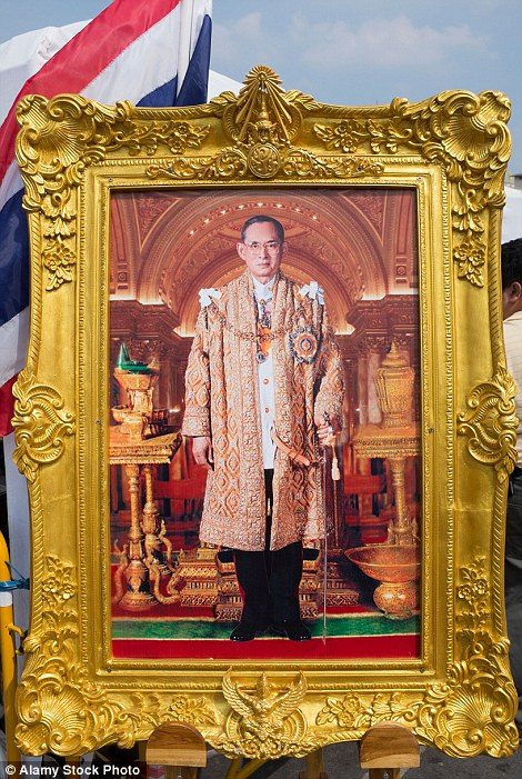 King Bhumibol, whose reign began in 1946
